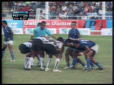 South Pacific Games 2007 Rugby 7s Samoa vs Fiji GM