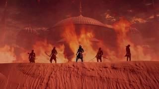 Tamerlan Empire - Battle of Tyrants (Official Lyric Video) Oriental Black Metal