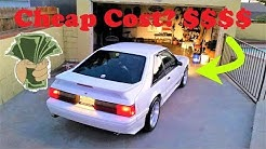 How Much Does Car Insurance Cost For A Foxbody?