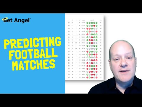 Football betting tips - Take the luck out of your trading or football betting strategy