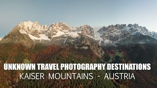 unknown travel photography destinations kaiser mountains austria