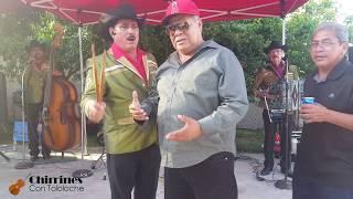 Chirrines Con Tololoche con la gente de Romita Guanajuato en Los Angeles CA