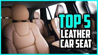 Top 5 Best Leather Car Seat Back Organizers