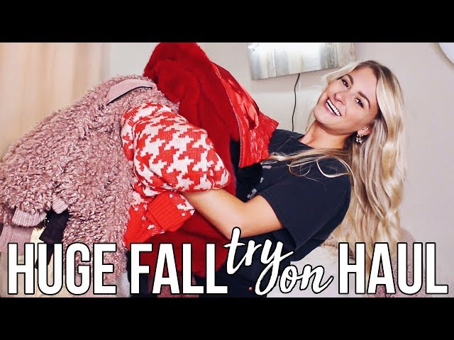another fall try on haul because im insane!!
