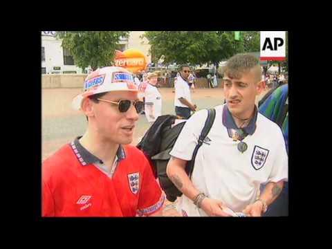 UK: EURO 96 CHAMPIONSHIPS OPEN AT WEMBLEY STADIUM