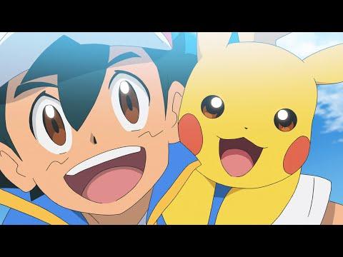 UK: ENTER PIKACHU! | Pokémon Journeys: The Series Episode 1