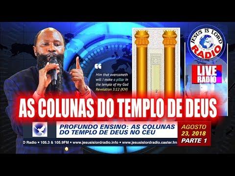 Baixar 23/08/2018 PROFUNDO ENSINO - OS VENCEDORES - AS COLUNAS DO TEMPLO DE DEUS NO CÉU DAVID OWUOR