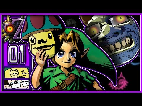 Moggy & Jonny lieben The Legend Of Zelda: Majoras Mask! - [Termina] #1