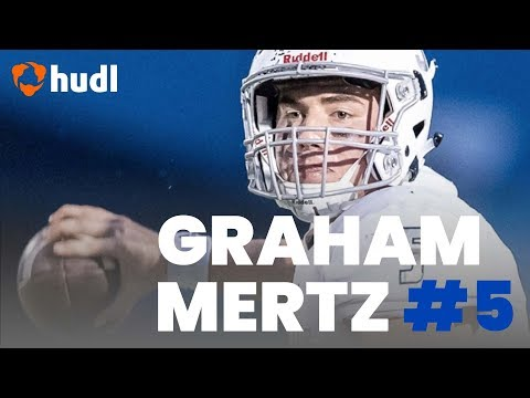 Graham Mertz has an impressive highlight reel from high school