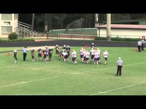 Providence JV Football vs Athens Christian Academy, 2012