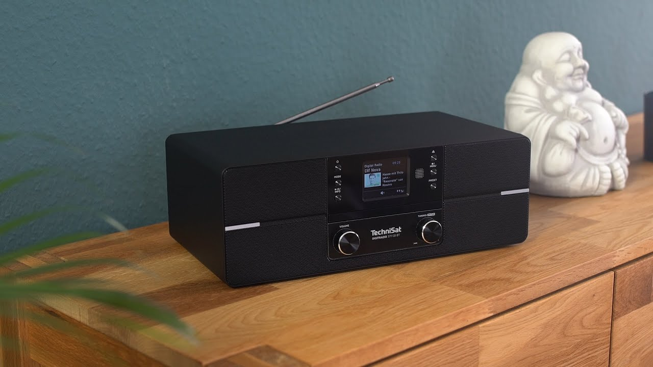 Video: Short Review DIGITRADIO 371 CD BT | DAB+ Radio in exzellenter Stereoqualität | TechniSat