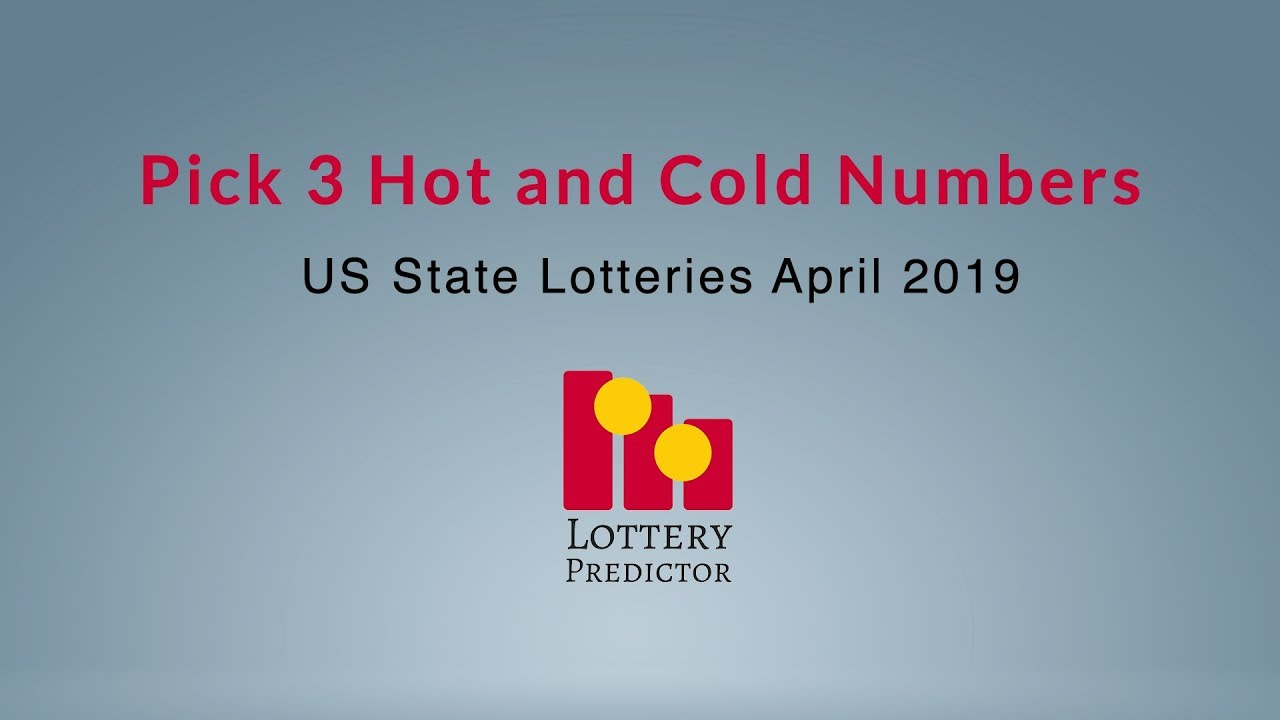 Pick 3 Lottery Hot and Cold Numbers - US State Lotteries April 2019 - YouTube
