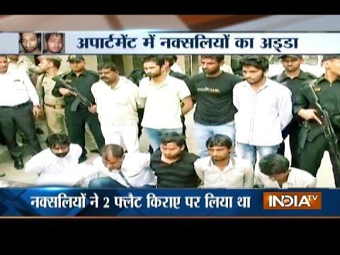 ATS nabs 9 naxals in Noida planning a terror attack in Delhi-NCR