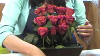 Como hacer un estilizado arreglo de rosas en 3 pisos