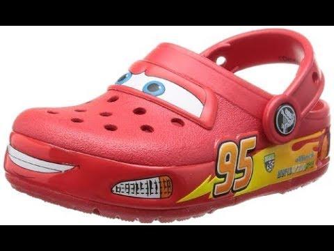 lightning mcqueen heely crocs