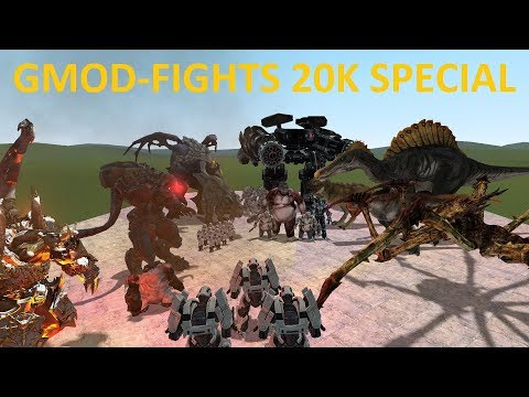 GMOD-FIGHTS - 20K SUBS!! - EPIC FREE 4 ALL!