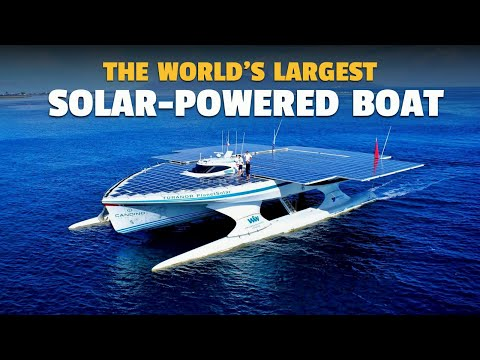 The World's Largest Solar-Powered Boat