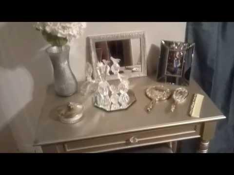 DIY: Silver Vanity!