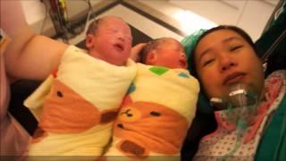 雙胞胎媽媽患妊娠毒血症,在愛麗生平安生產