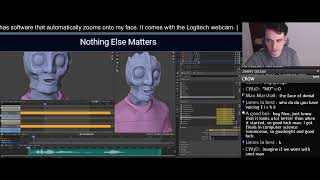 Animating a talking fish standing around doing NOTHING