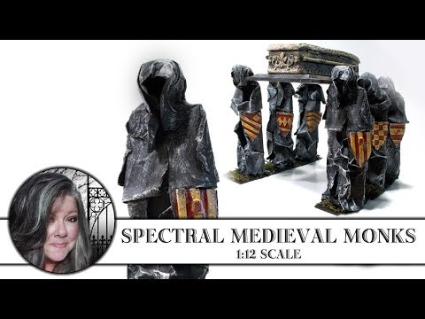 💀Spectral Monk Figures 1:12 Scale💀