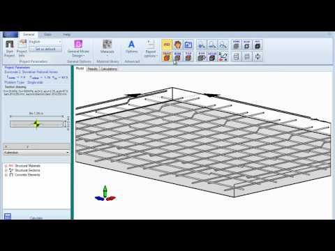 Two Way Reinforced Slab Design Mp4 Youtube