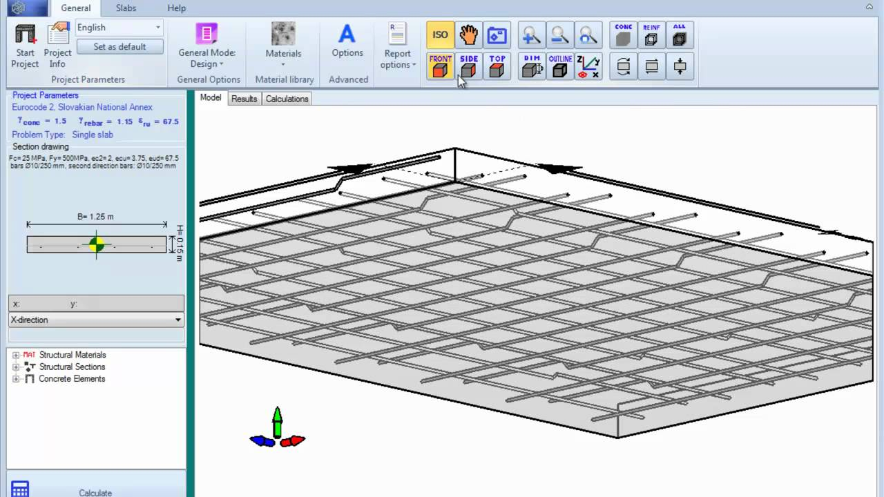 Reinforced concrete slab design for Concrete slab plans
