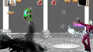 音量注意!MUGEN 嘲笑う炎影(クーラカラー)vs冥き炎(真っ黒カラー) thumbnail