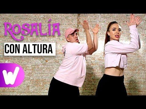 CON ALTURA – Rosalía, J Balvin ft. El Guincho | COREOGRAFÍA PASO A PASO