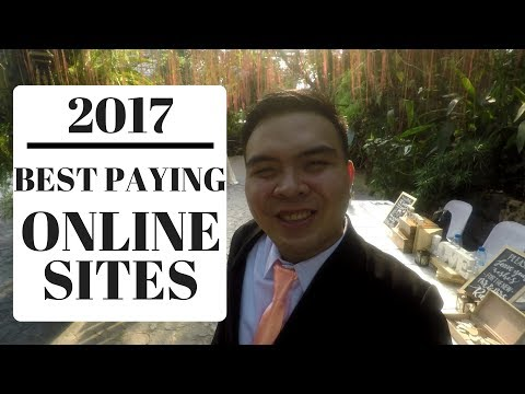 2017 Best Extra Income Online Sites Recap that are still Paying and Legit - Tagalog Philippines