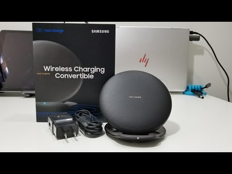 Samsung CONVERTIBLE FAST WIRELESS CHARGER | Unboxing and Quick Look
