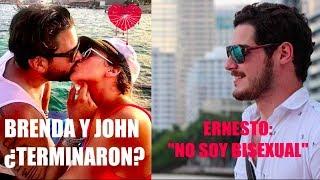 Vaya Vaya 🤔: Ernesto aclara bisexualidad / Brenda y John ¿terminaron?