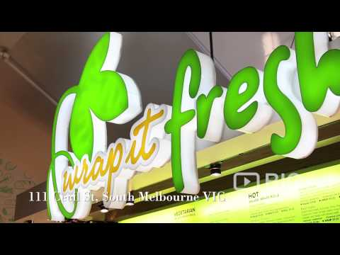 Wrap It Fresh, a Cafe in Melbourne serving Healthy Salad and Wraps