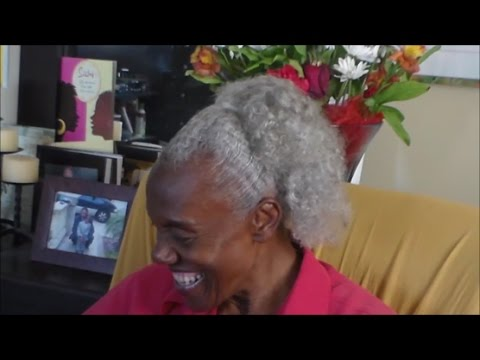 Gray Hair Beauty   Weekly Hair Care Routine   Featuring Barbara L. Ray