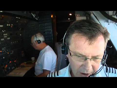 747 cockpit,  oceanic crossing procedures