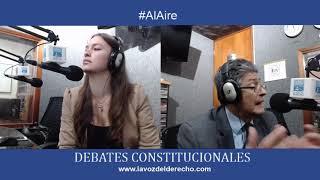 #DebatesConstitucionales Los errores del 91, a Constitución descuartizada. Autor Dr. Ricaurte Losada