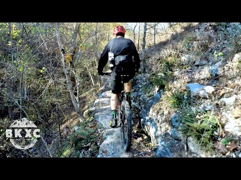 Mountain Biking the Back 40 in Bentonville, Arkansas