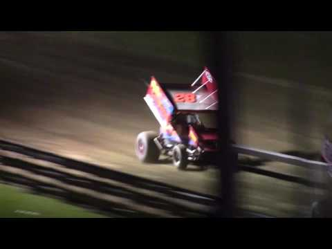 Little Valley Speedway Patriot Sprint Tour Feature 7-1-16