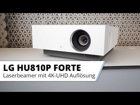 LG HU810P Forte 4K Laser Beamer Vorstellung - LGs neuer Laser Heimkino Beamer