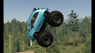 The Crew 2 First Events in the Abarth 500 Monster Truck and Supermarine Spitfire