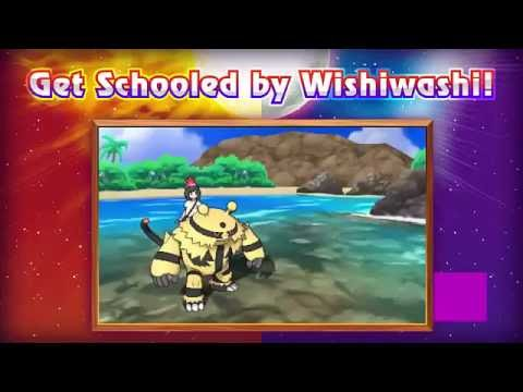 Newly Pokemon Discover Wishiwashi School Form when it reaches at ...