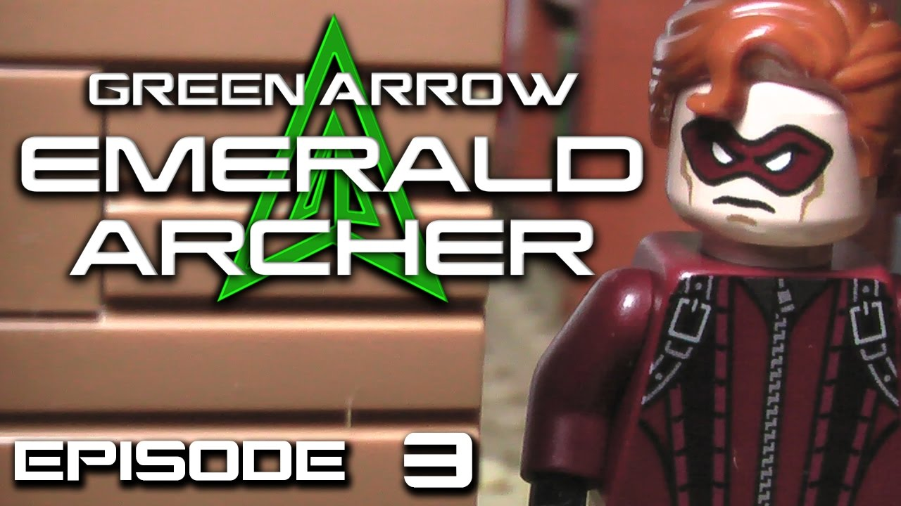Lego green arrow emerald archer episode 3 cloak and - Archer episodes youtube ...