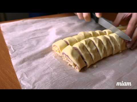 feuilletés-jambon-fromage