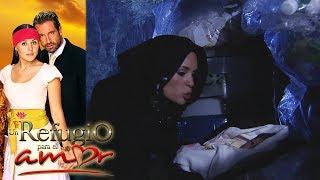 Un refugio para el amor - Capítulo 133: ¡Gala y Rosa Elena roban al hijo de Luciana! - tlnovelas