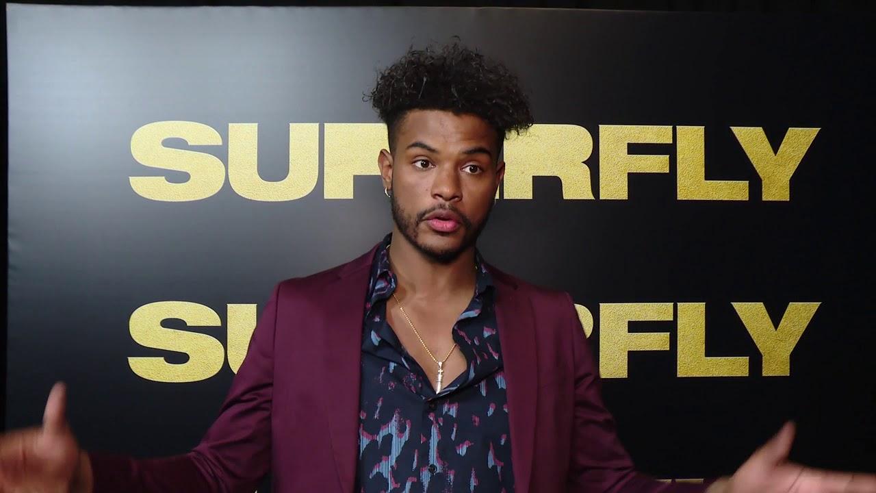 Cinemacon 2018 Superfly Sony Trevor Jackson Youtube