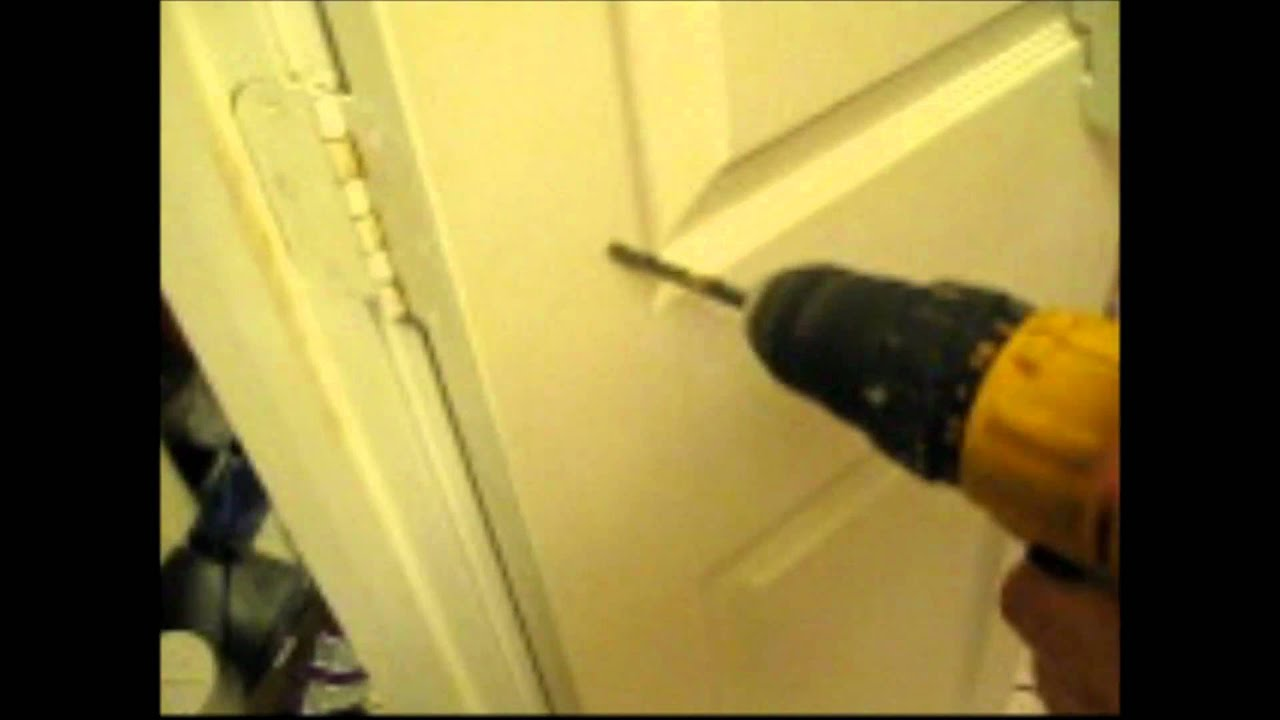 Attaching Spice Rack Or Other Device To Hollow Core Door