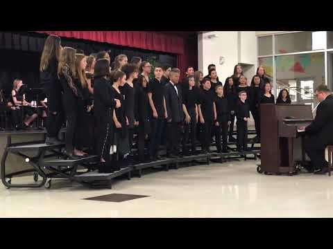 Fall 2018 South Meadows Middle School Choir Performance #4