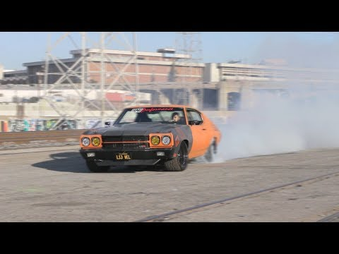 1970 Chevelle with Ls3 Swap Hits Los Angeles Streets