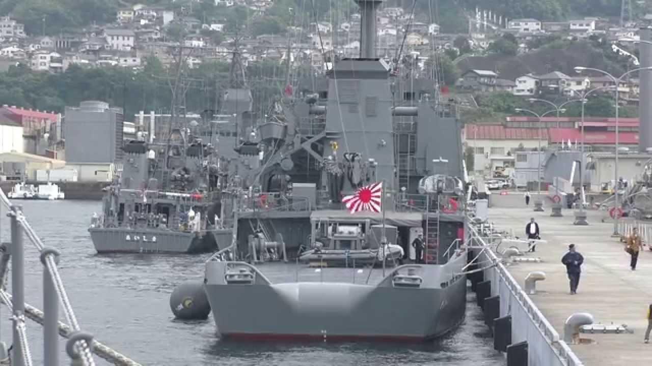 M141102C 海上自衛隊呉基地 護衛...