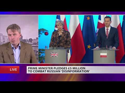 Daniel Kawczynski on Foreign Secretary Arriving in Moscow